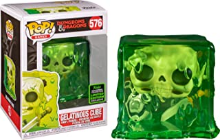 Funko Pop! Dungeons and Dragons Gelatinous Cube Shared Sticker ECCC 2020 Exclusive