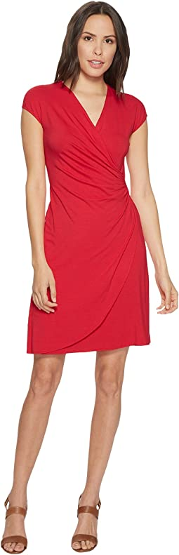Tambour Side Gathered Dress