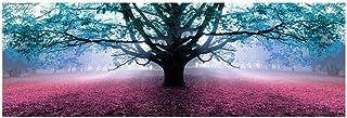 Cuadro Árbol de la Vida romántico Azul de Lienzo para