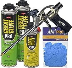 Dow Great Stuff Pro Pestblock Foam Sealant Kit with Foam Gun and Gloves