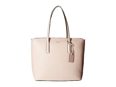 Kate Spade New York Margaux Large Tote (Pale Vellum) Handbags