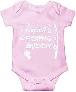 CBTwear Daddy's Fishing Buddy - Newborn Future Fisherman - Cute Infant One-Piece Baby Bodysuit