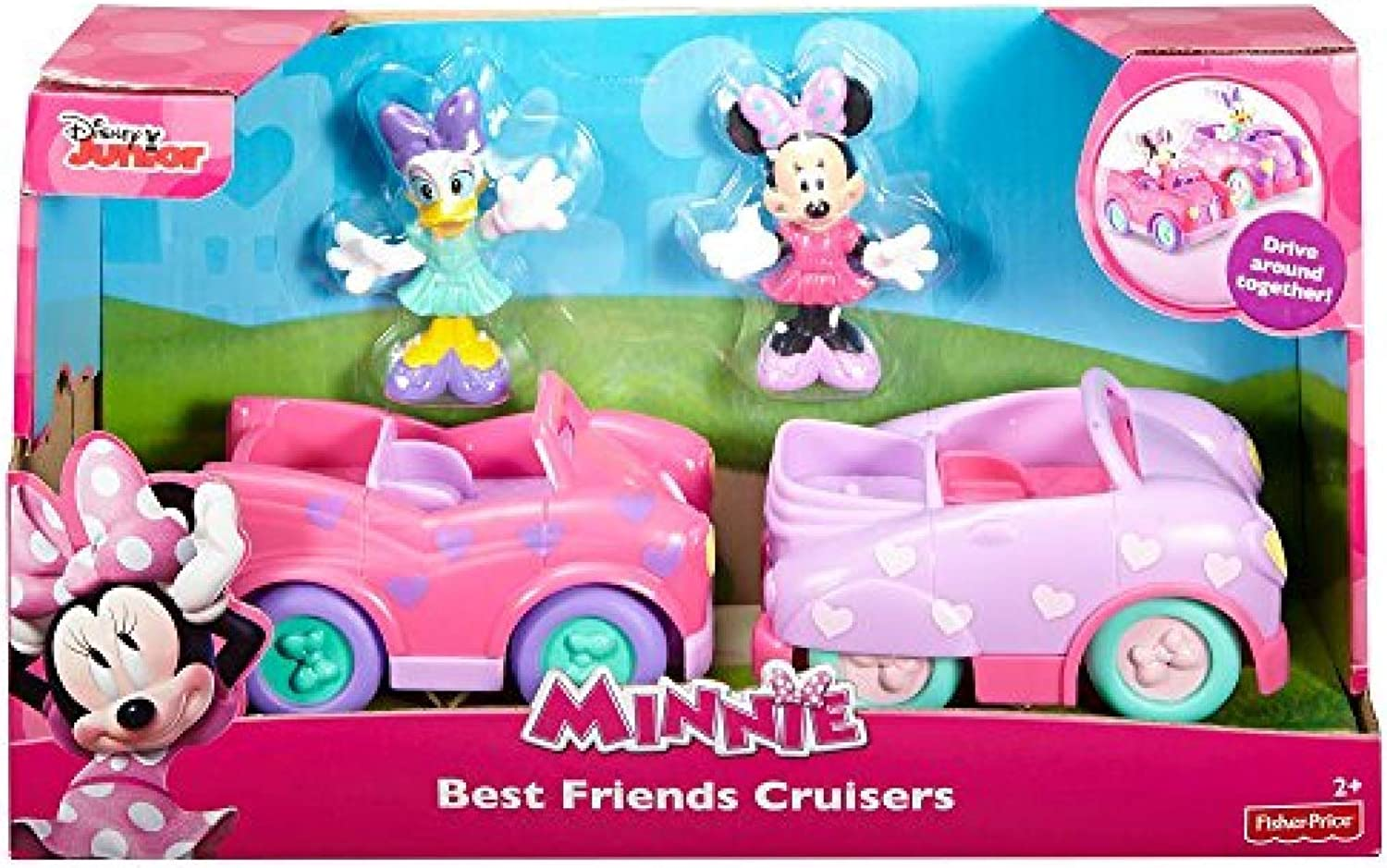 FisherPrice Disney Minnie Mouse Best Friends Cruisers Doll