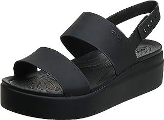 حذاء Brooklyn Low Wedge W Flip Flop لوقت الفراغ ورياضي من Crocs Girls، متعدد الألوان