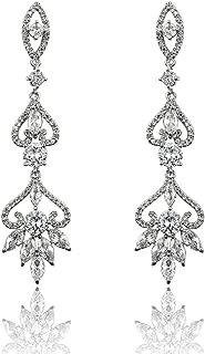 Best rhinestone chandelier earrings wedding Reviews