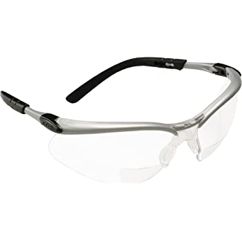 MONTERAY READER 2.00 CLEAR SAFETY GLASSES//CLEAR TEMPLES LOT OF 2 #10042