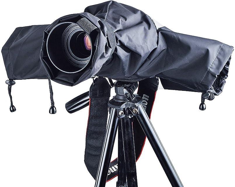 Funda lluvia cámara ZWOOS Protector Antilluvia Impermeable de Cámara para Canon Nikon y Sony etc