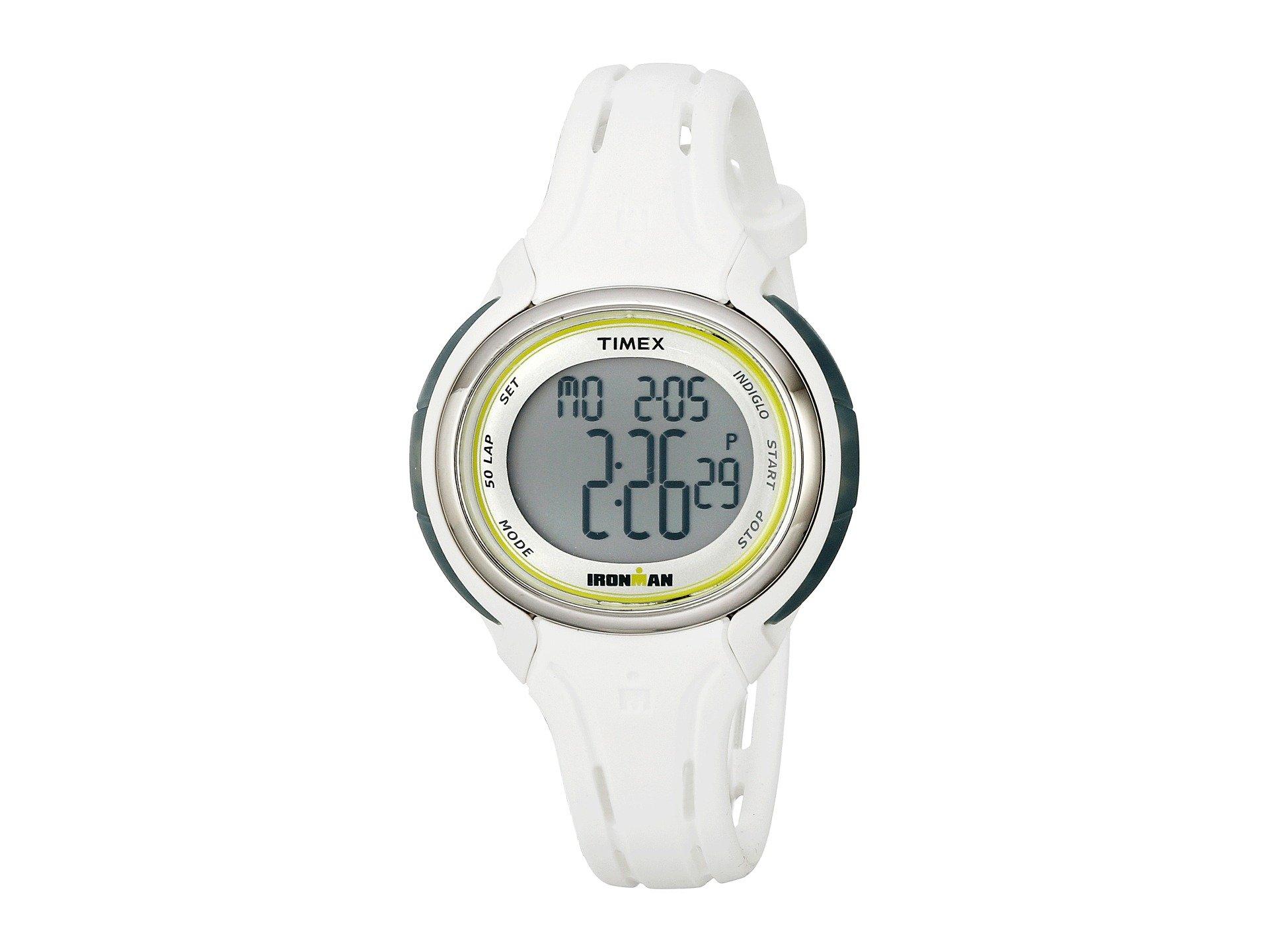 Timex , WHITE/SILVER-TONE