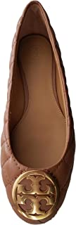 Tory Burch Benton Quilted Ballet Flat Nappa Leather Shoes