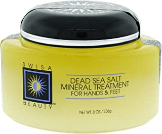 Swisa Beauty Dead Sea Mineral Treatment for Hands and Feet - Softening and Healing with Dead Sea Salts and Natural Oils, 8oz