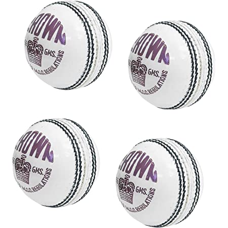 CW 6 X Special County Crown Premium Quality 4PCE Ball Official Cricket Leather Ball