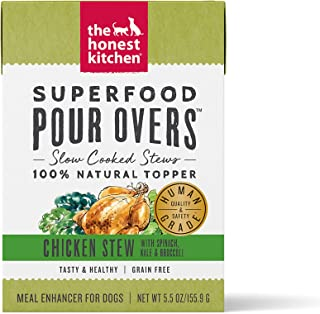The Honest Kitchen Superfood POUR OVERS, 5.5oz, Case of 12