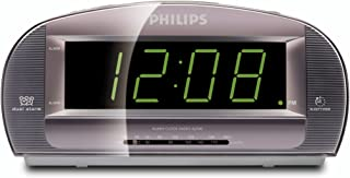 Philips AJ3540/37 Clock Radio with Large Display (Silver) (Discontinued by Manufacturer)
