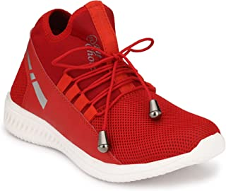 Oladin Mens Running Shoes Sneakers Colour Blue/Black/Red