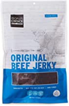 People's Choice Beef Jerky - Classic - Original - Big Slab - Whole Muscle Premium Cuts - Bulk Jerky Package - Thin Sheets - Low Sodium Low Salt High Protein Meat Snack - 15 Count, 1 Bag