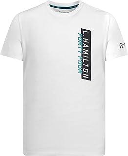 Mercedes AMG Petronas Motorsport F1 Lewis Hamilton White T-Shirt