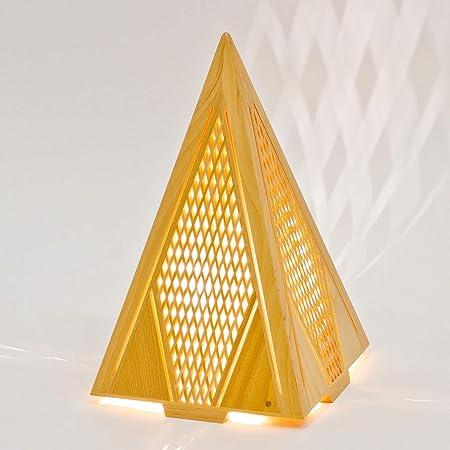 木のあかり 翔(しょう) テーブルランプ 組子照明 青森ヒバ製 国産手作り 25ワット
