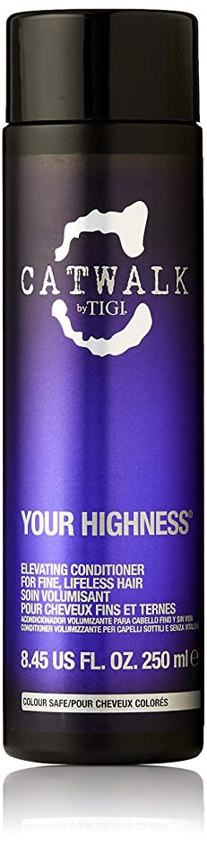 バランスのとれた結果としてリーティジー キャットウォーク ユア ハイネス エレベーティング コンディショナー (細く元気のない髪用) 250ml/8.45oz