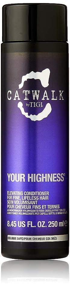 ベンチャーコイン捨てるティジー キャットウォーク ユア ハイネス エレベーティング コンディショナー (細く元気のない髪用) 250ml/8.45oz