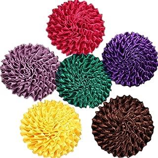 Men's Handmade Flowers Brooch Lapel Pin Flower Set Handmade For Suits Gift