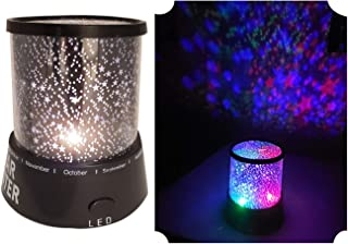 Star Projector Kids Room LED Night Light Party | Sleep Soother Stars Ceiling.