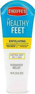 O'Keeffe's Healthy Feet Exfoliating Foot Cream, 3 ounce Tube