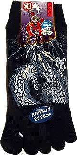 Du 39 au 43 Chaussettes 5 orteils Dragon et Mont Fuji JAPONMANIA