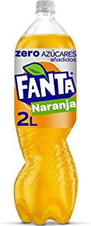 Fanta Naranja Zero Azúcar Botella - 2 l