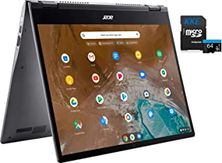 "Acer Spin 713 2-in-1 Chromebook, 13.5"" 2K 3:2 Touchscreen, Intel Core i5-10210U, 8GB RAM, 128GB SSD, Webcam, Backlit Keybo..."
