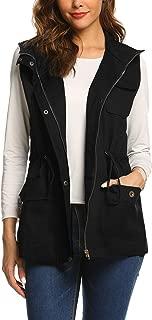 Womens Lightweight Sleeveless Military Anorak Cargo Vest