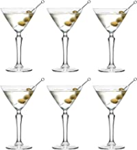 Libbey SPKSY Martini Cocktailglas - 190 ml / 19 cl - Set med 6 stk. - Diskmaskinssäker - Perfekt för ett cocktailparty hemma