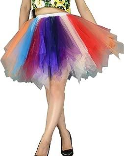 Women's Tutu Tulle Mini A-Line Petticoat Prom Party Cosplay Skirt Fun Skirts