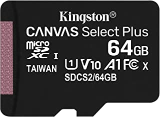 キングストン microSD 64GB 最大100MB/s UHS-I V10 A1 Nintendo Switch動作確認済 Canvas Select Plus SDCS2/64GB 永久保証