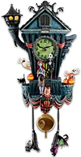 Bradford Exchange The Cuckoo Clock: Tim Burton's The Nightmare Before Christmas Wall Clock