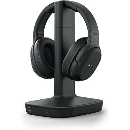 Sony L600 Wireless Digital Surround Dolby Audio Sound Overhead Headphones for Watching TV (WH-L600), Black, 2.1