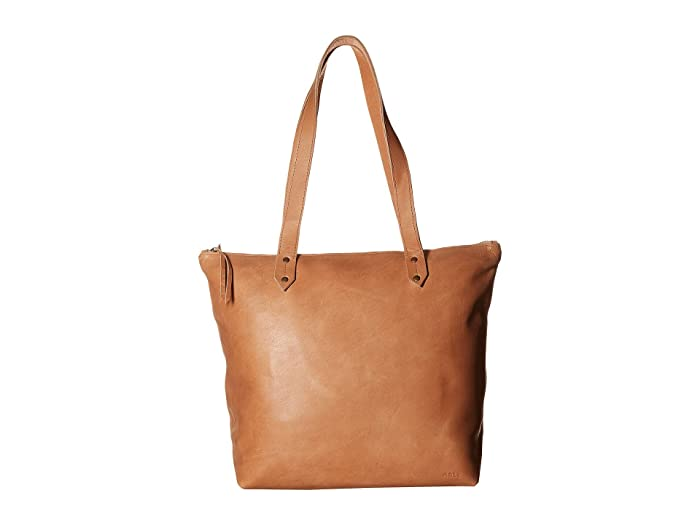 ABLE  Chaltu Top Zip Tote (Sand) Tote Handbags