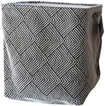 JUAN Dirty Folding Clothes Storage Basket Cotton And Linen Thickening Household Laundry Basket (Size : 33cm*26cm*42cn)