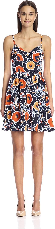 Hutch Women's Fit & Flare Print Dress