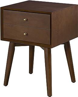 Crosley Furniture Landon Night Stand, Mahogany