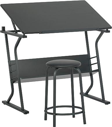 Surprising Amazon Ae Studio Studio Center With Stool Bralicious Painted Fabric Chair Ideas Braliciousco