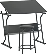 STUDIO DESIGNS Eclipse Table with Stool in  Black 13366