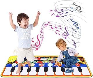 Bowink Kids Musical Mat, Piano Music Keyboard Dance Mat 8 In