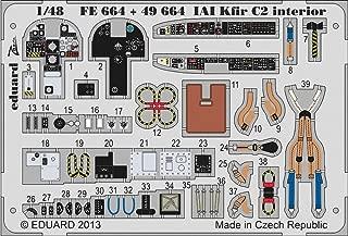 EDU49664 1:48 Eduard Color PE - IAI Kfir C2 Interior Detail Set (for use with the AMK kit) MODEL KIT ACCESSORY