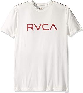 RVCA Men's Big Short Sleeve Crew Neck T-Shirt