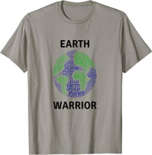 Love Planet Earth T-Shirt - Earth Warrior Eco Save Planet