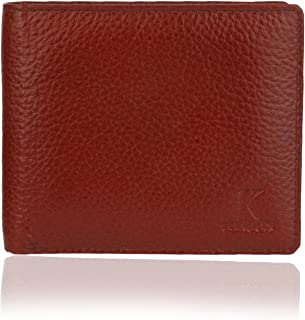 K London Men's Wallet Brown-541_brown