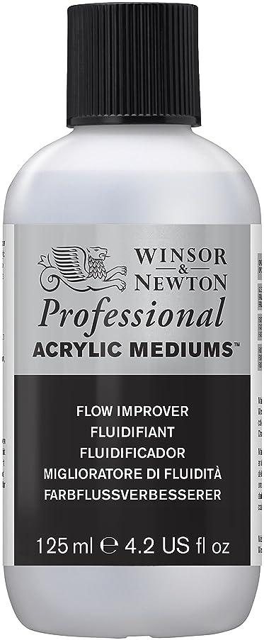 Winsor & Newton Professional Acrylic Medium Flow Improver, 125ml