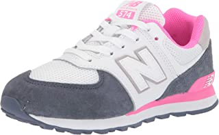 New Balance Kids Girl's 574 Summer Sport (Little Kid)