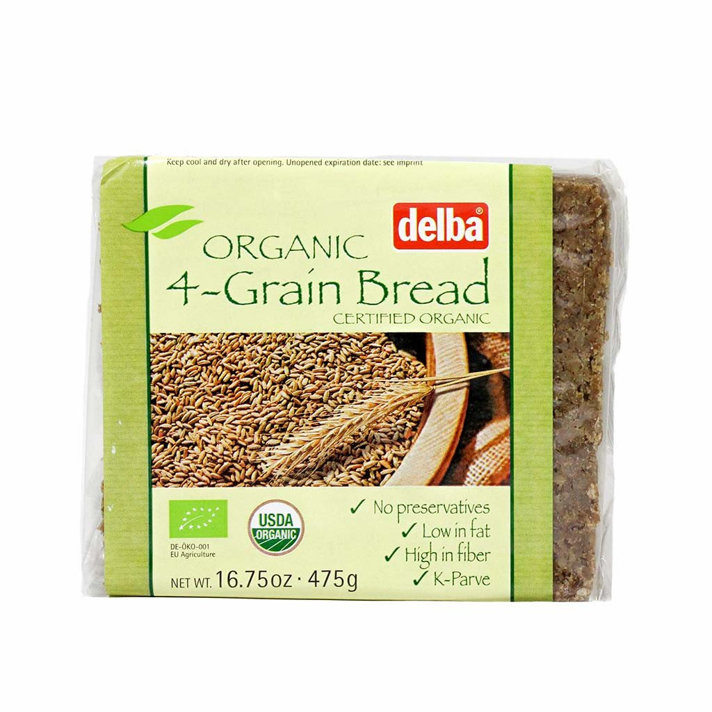 Organic German Four Grain Bread 16.75 by Oklahoma City Mall oz Delba Store