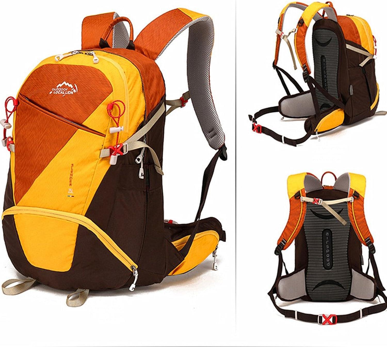 LCPG Ruckscke wasserdicht und langlebig 25L Liter Reisen durch Gehen Klettern Wild Camping Freizeit Sport Neutral Mnnliche und weibliche Schultern Multifunktionsspeicher Geeignet für den Einsatz im